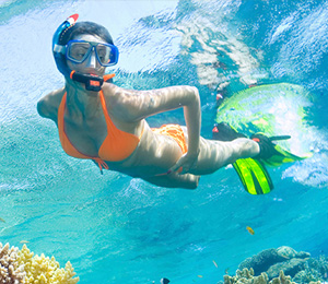 The unique Key West snorkeling experience