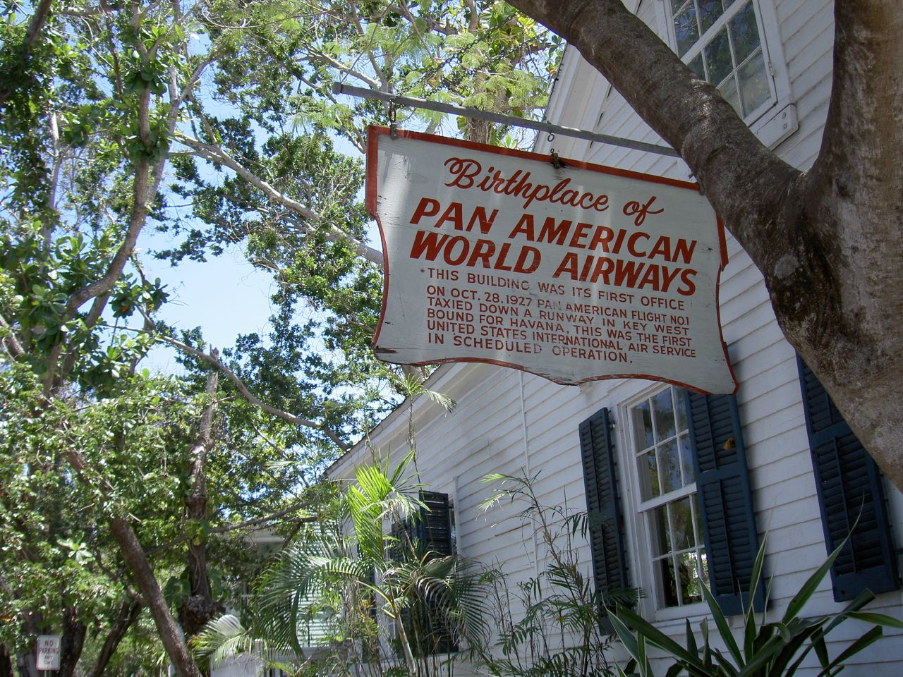 The Birth Place of Pan-Am